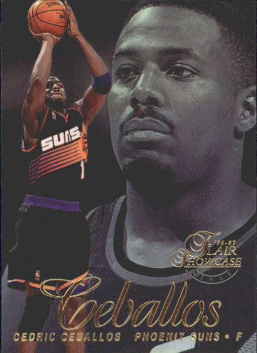 1996-97 Flair Showcase Legacy Collection Row 2 #89 Cedric Ceballos