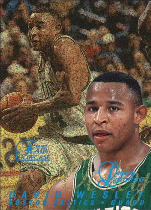 1996-97 Flair Showcase Legacy Collection Row 0 #80 David Wesley