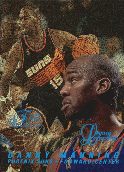 1996-97 Flair Showcase Legacy Collection Row 0 #82 Danny Manning