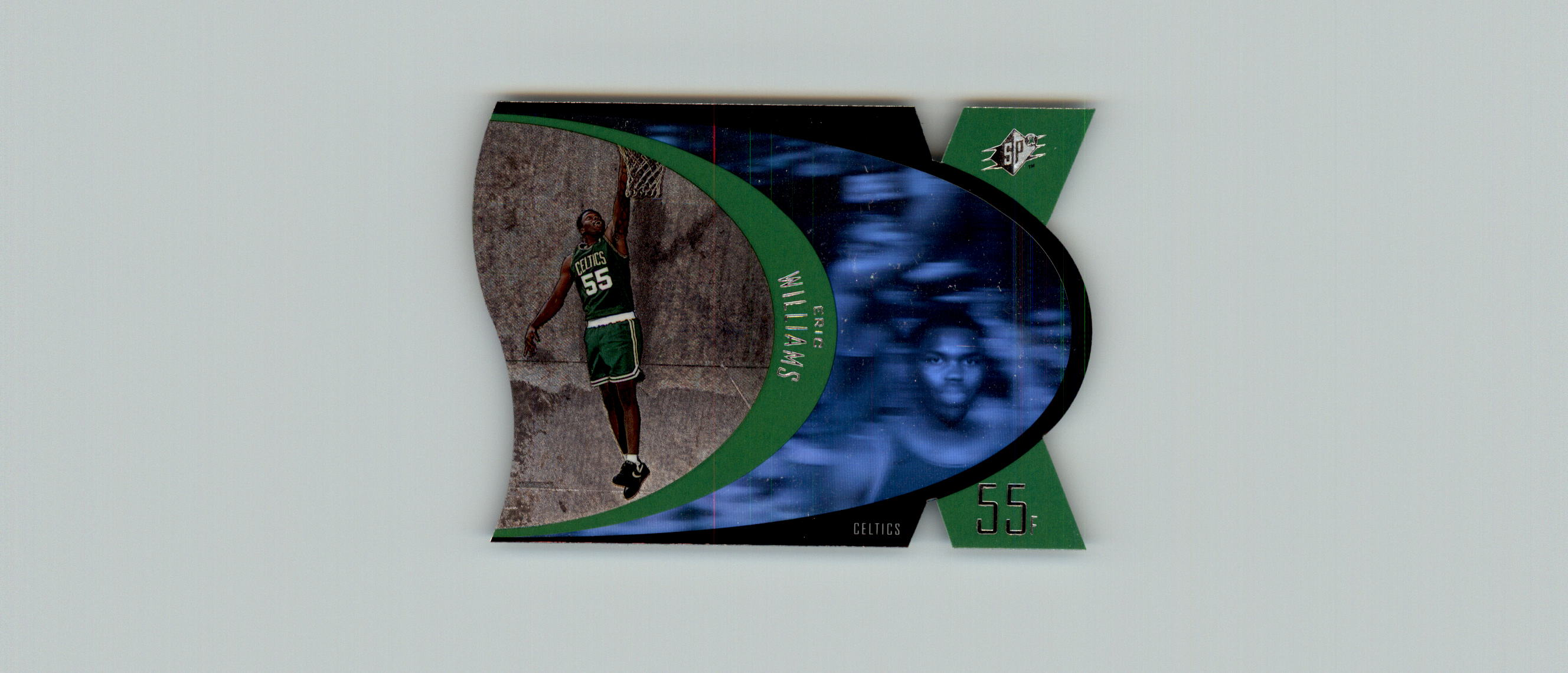 1997 SPx #3 Eric Williams