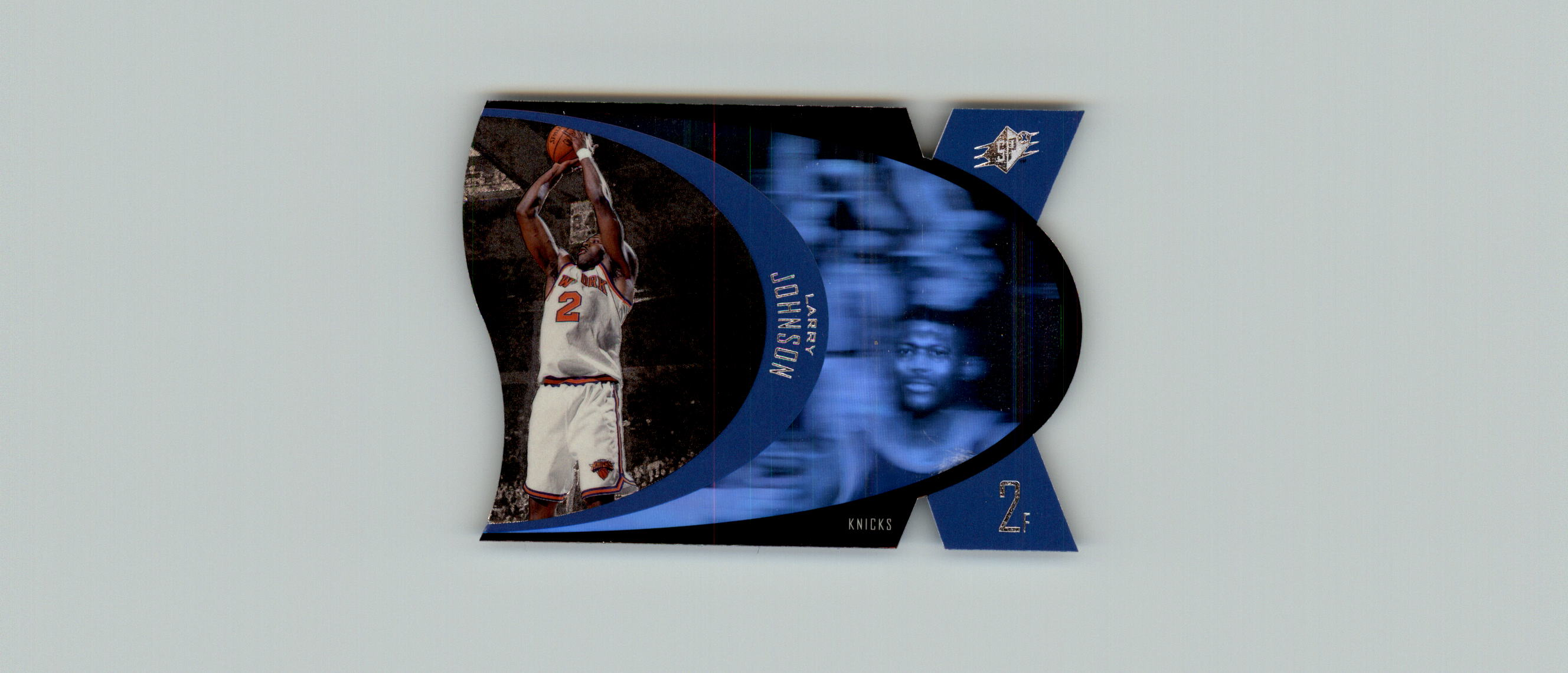 1997 SPx #33 Larry Johnson