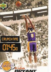 1997 Upper Deck Nestle Crunch Time #CT22 Kobe Bryant