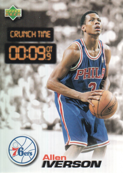 1997 Upper Deck Nestle Crunch Time #CT33 Allen Iverson