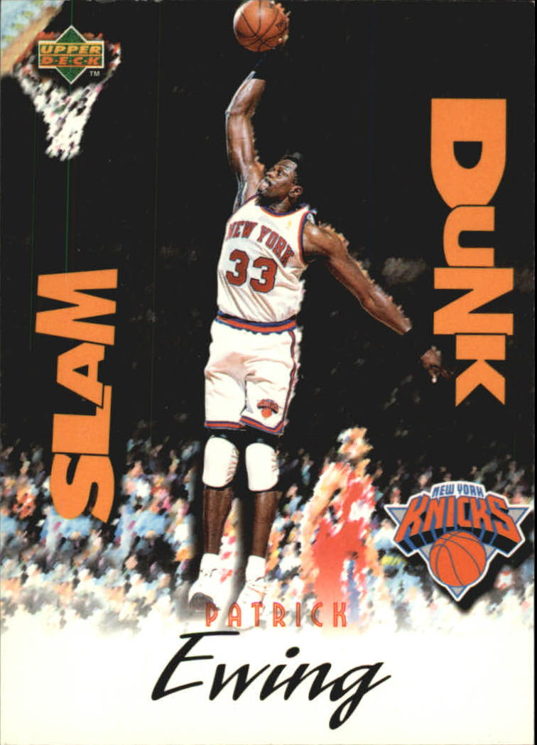 1997 Upper Deck Nestle Slam Dunk #10 Patrick Ewing