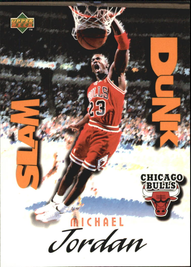 1997 Upper Deck Nestle Slam Dunk #22 Michael Jordan