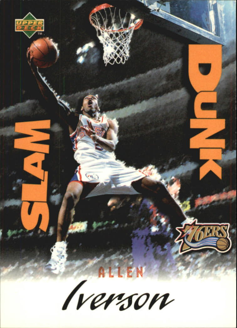 1997 Upper Deck Nestle Slam Dunk #30 Allen Iverson