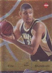 1997 Collector's Edge Promos #1 Tim Duncan
