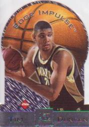 1997 Collector's Edge Impulse #1 Tim Duncan