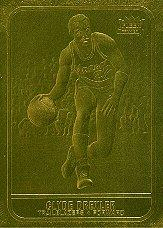 1997 Bleachers/Fleer Gold #2 Clyde Drexler 1986-87