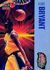 1997 Score Board Autographed BK Trademark Slam #15 Kobe Bryant