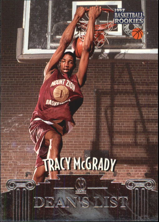 1997 Score Board Rookies #48 Tracy McGrady