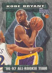 1997 Score Board Rookies #83 Kobe Bryant ART