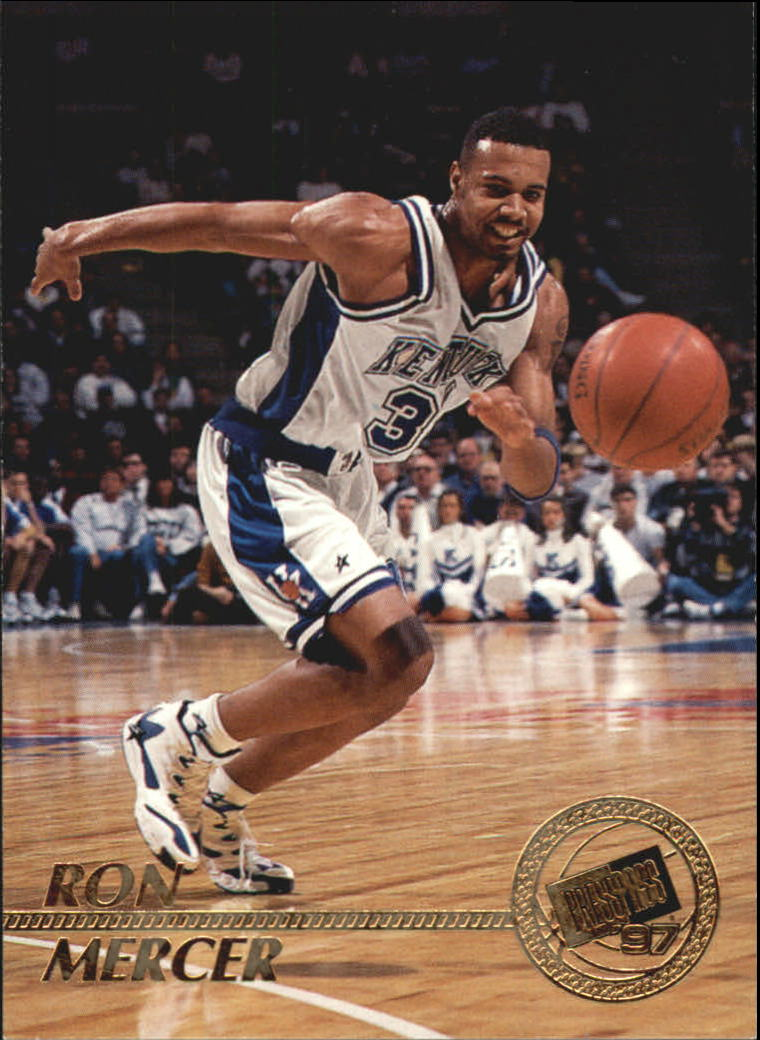 1997 Press Pass #2 Ron Mercer