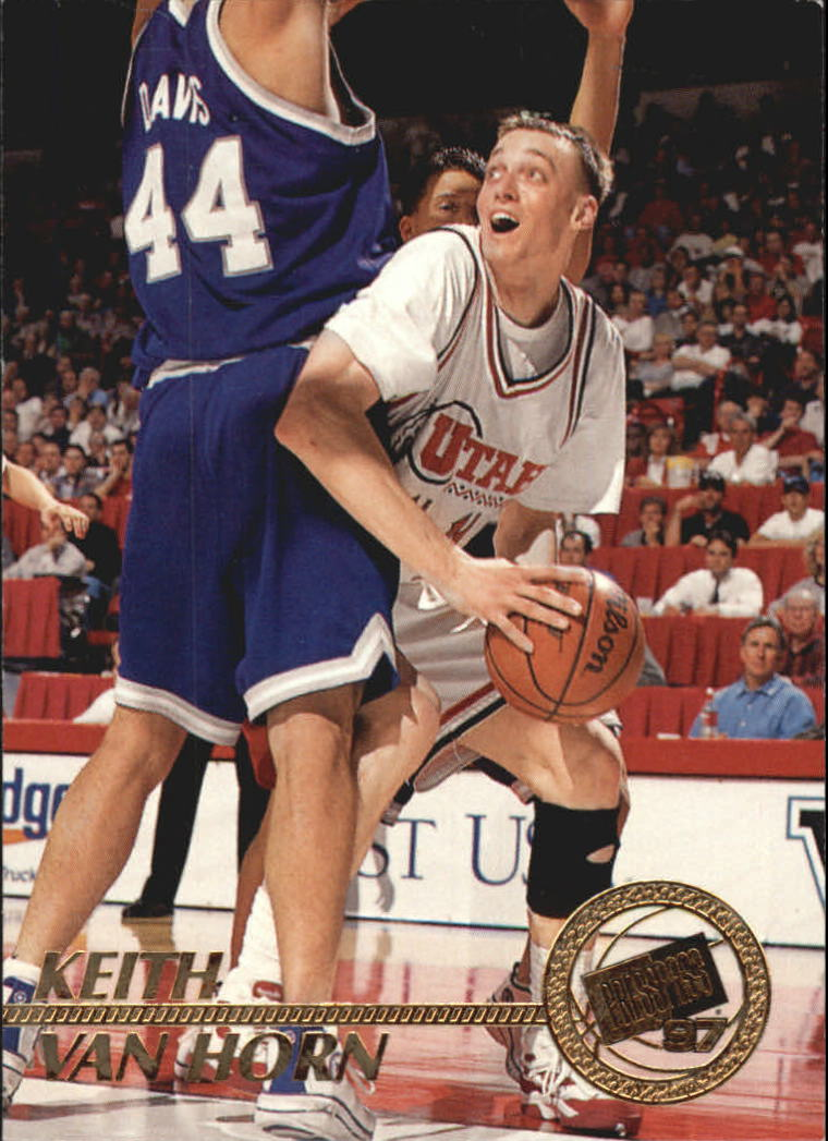 1997 Press Pass #3 Keith Van Horn