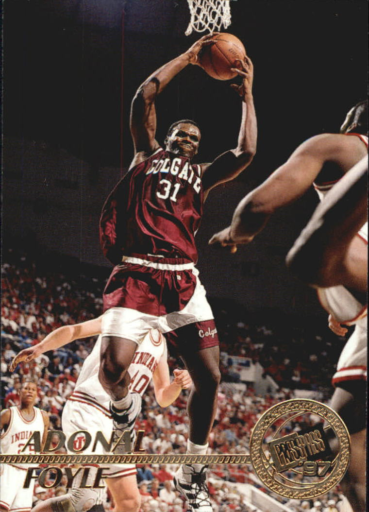 1997 Press Pass #7 Adonal Foyle