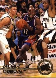 1997 Press Pass #14 Jacque Vaughn