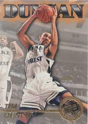 1997 Press Pass #45 Tim Duncan CL