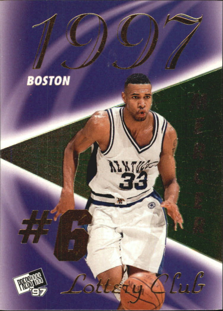 1997 Press Pass Double Threat Lotto #LC4A Ron Mercer