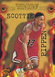 1997 Press Pass Double Threat Showdown #S5 Scottie Pippen/Ron Mercer