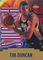1997 Collector's Edge Swoosh #9 Tim Duncan