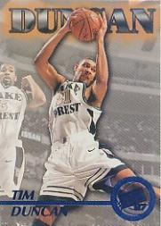 1997 Press Pass Blue Torquers #45 Tim Duncan CL