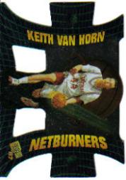 1997 Press Pass Net Burners #NB3 Keith Van Horn