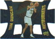 1997 Press Pass Net Burners #NB36 Tim Duncan CL