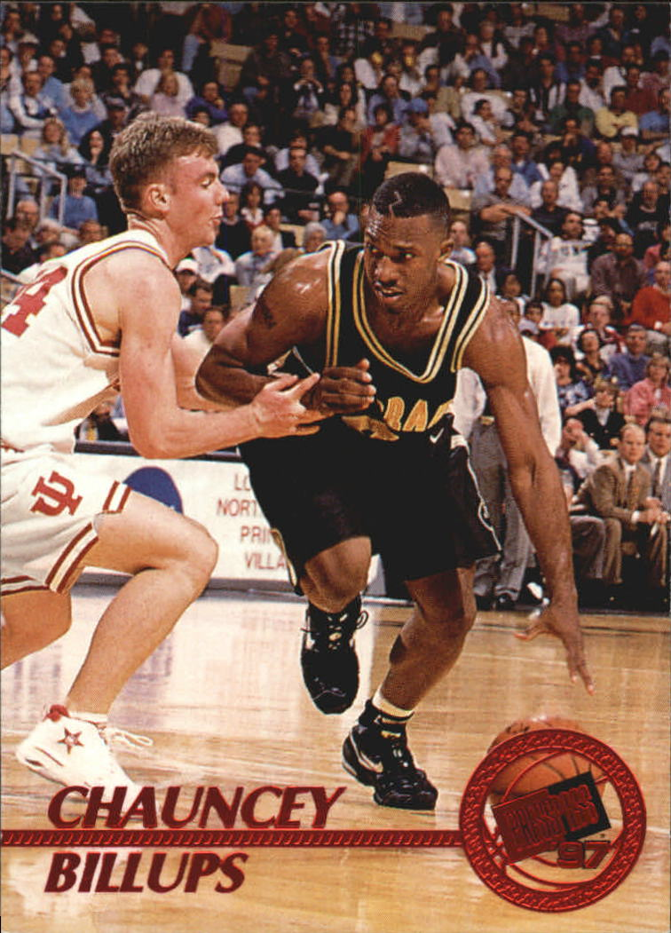 1997 Press Pass Red Zone #12 Chauncey Billups