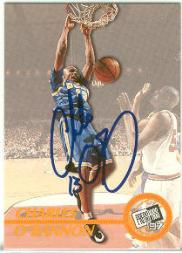 1997 Press Pass Autographs #17 Charles O'Bannon