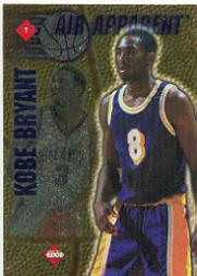 1997 Collector's Edge Air Apparent #7 Tim Thomas/Kobe Bryant