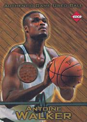 1997 Collector's Edge Game Ball #1 Antoine Walker