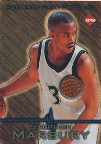 1997 Collector's Edge Game Ball #4 Stephon Marbury
