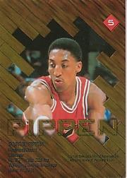 1997 Collector's Edge Game Ball #5 Scottie Pippen back image