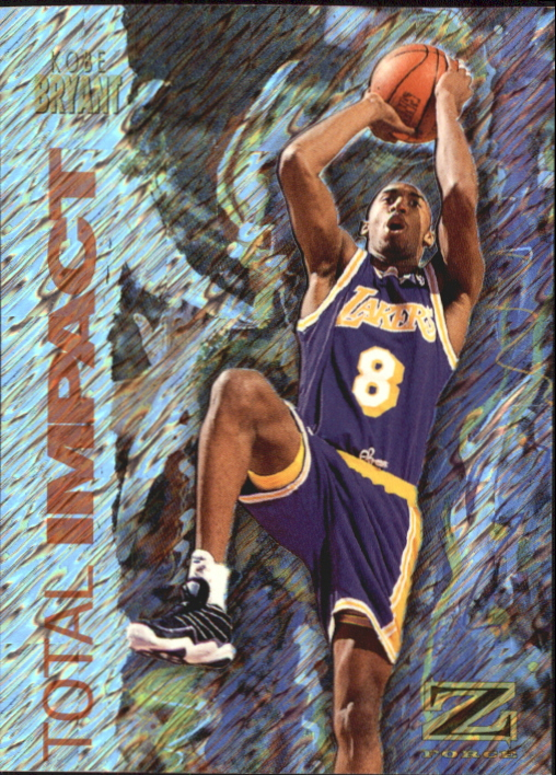 1997-98 Z-Force Total Impact #1 Kobe Bryant