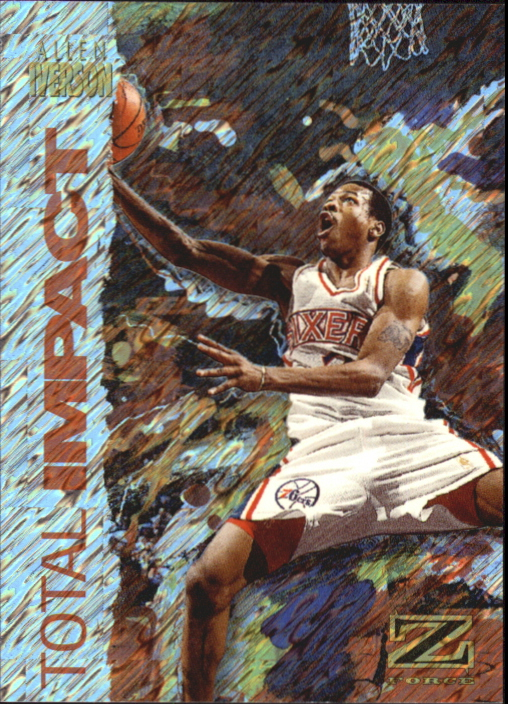 1997-98 Z-Force Total Impact #5 Allen Iverson
