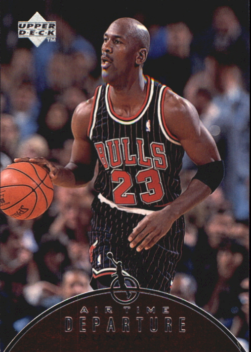 1997-98 Upper Deck Jordan Air Time #AT1 Michael Jordan