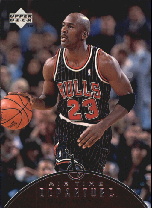 1997-98 Upper Deck Jordan Air Time #AT4 Michael Jordan