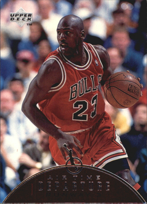 1997-98 Upper Deck Jordan Air Time #AT9 Michael Jordan