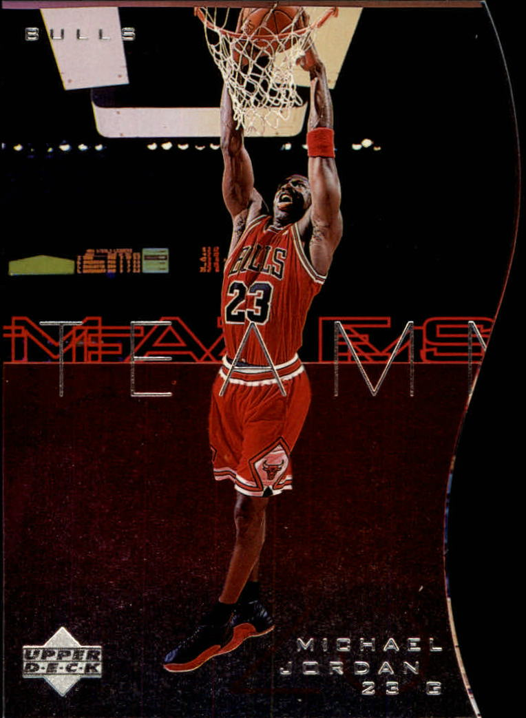 1997-98 Upper Deck Teammates #T7 Michael Jordan