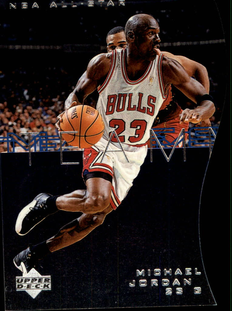 1997-98 Upper Deck Teammates #T59 Michael Jordan