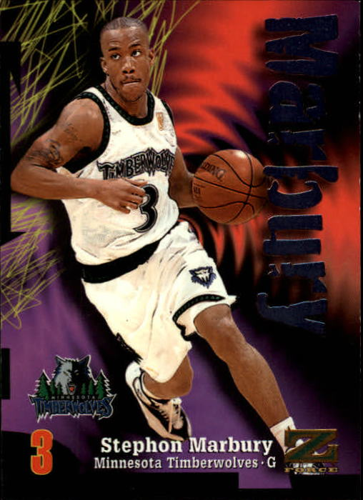 1997-98 Z-Force #3 Stephon Marbury