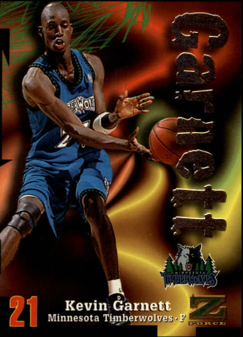 1997-98 Z-Force #21 Kevin Garnett