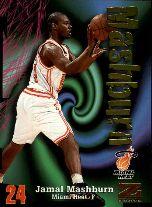 1997-98 Z-Force #38 Jamal Mashburn