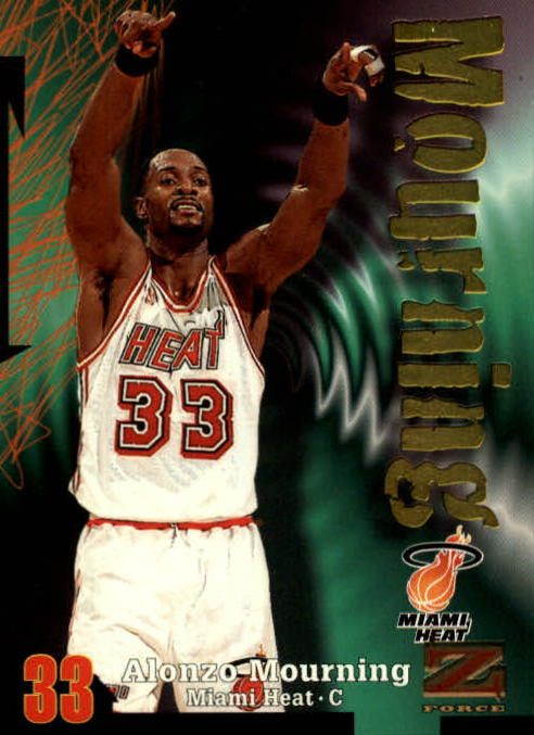 1997-98 Z-Force #99 Alonzo Mourning