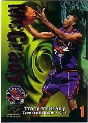 1997-98 Z-Force #172B Tracy McGrady ERR RC