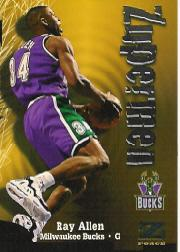 1997-98 Z-Force #198 Ray Allen ZUP
