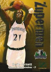 1997-98 Z-Force #199 Kevin Garnett ZUP