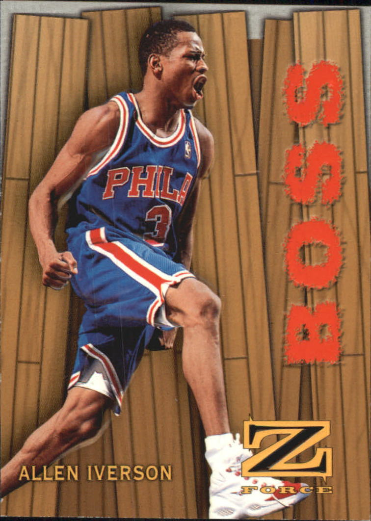 1997-98 Z-Force Boss #8 Allen Iverson