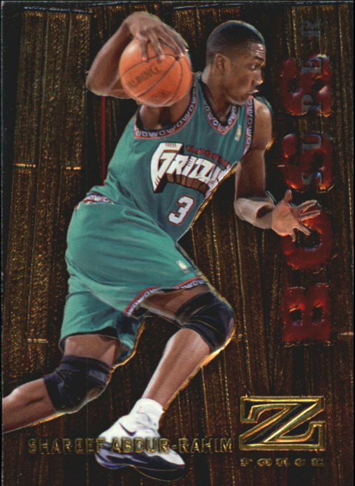 1997-98 Z-Force Super Boss #1 Shareef Abdur-Rahim