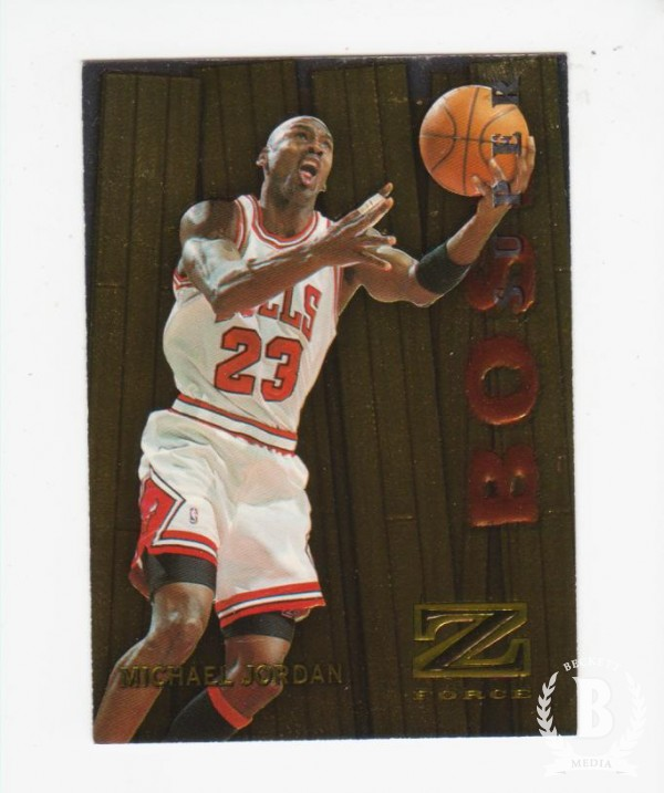 1997-98 Z-Force Super Boss #10 Michael Jordan